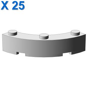 BOW 1/4 4X4X1 X 25