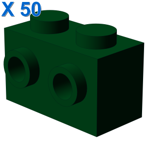 BRICK 1X2 W. 2 KNOBS X 50