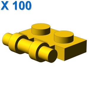 PLATE 1X2 W. STICK X 100