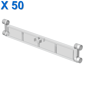 STOP LAMELLA FOR ROLLING GATE X 50