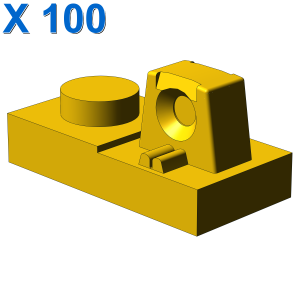 PLATE 1X2 W/STUB/ALONG/UPPER P X 100