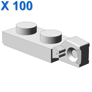 PLATE 1X2 W/STUB VERTICAL/END X 100