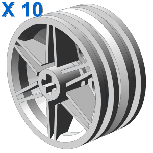 RIM NARROW Ø 30/14 W CROSS X 10
