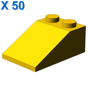 ROOF TILE 2X3/25° X 50