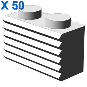 PROFILE BRICK 1X2 X 50