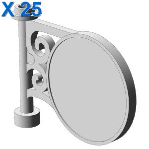 ROUND SIGN 1X5X3 X 25