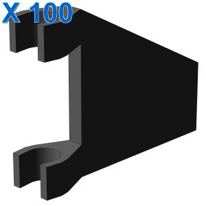 BANNER 26 DEG. W. 2 HOLDERS X 100