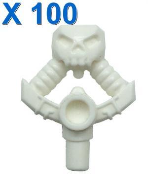 Djinn Sword Hilt with Skull and Bar X 100