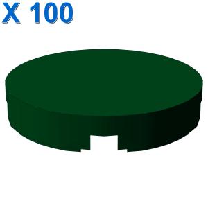 FLAT TILE 2X2, ROUND X 100