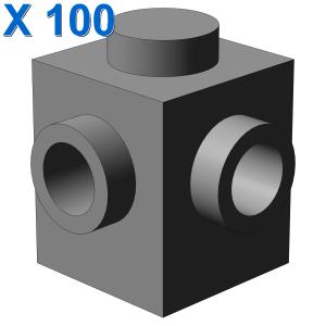 BRICK 1X1, W/ 2 KNOBS, CORNER X 100