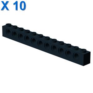 TECHNIC BRICK 1X12, Ø4,9 X 10