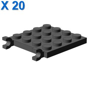PLATE 4X4 W/VERTICAL HOLDER X 20