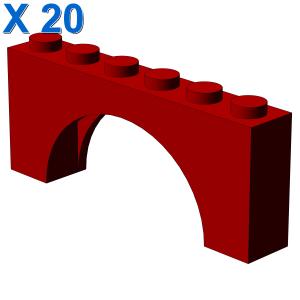 BRICK W. INSIDE BOW 1X6X2 X 20