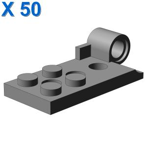 H. plate bot. 2x4 w. ø4.85 h. X 50