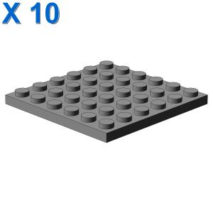 PLATE 6X6 X 10