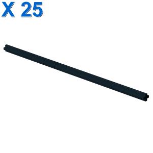 16M AXLE Ø 4.75 W. CROSS X 25