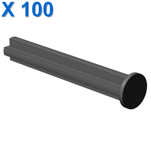 CROSS AXLE 4M WITH END STOP X 100