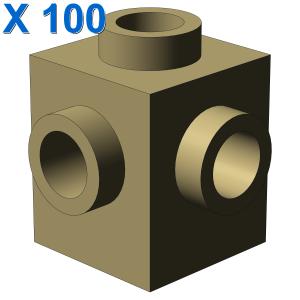 BRICK 1X1 W. 4 KNOBS X 100