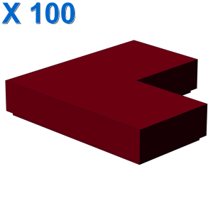 FLAT TILE CORNER 1X2X2 X 100