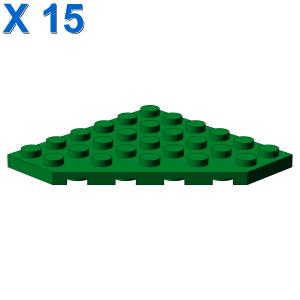 CORNER PLATE 6X6X45° X 15