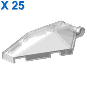 Windscreen 6 x 4 x 1 Hexagonal with Handle X 25
