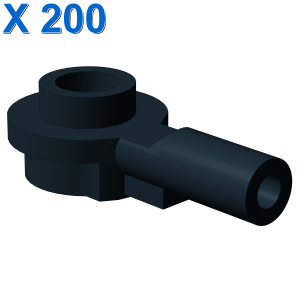 Bar 1L with 1 x 1 Round Plate with Hollow Stud X 200