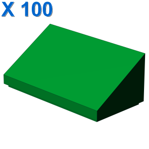 ROOF TILE 1 X 2 X 2/3, ABS X 100
