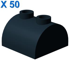 BRICK 2X2 W. BOW AND KNOBS X 50