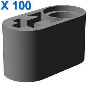 BEAM 1X2 W/CROSS AND HOLE X 100