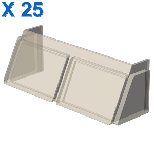 GLASS FOR WINDSCREEN 2X6X2 X 25