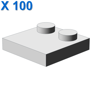 Tile 2 x 2 with 2 Studs X 100