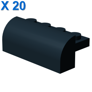 BRICK W. BOW 4X1X1 1/3 X 20