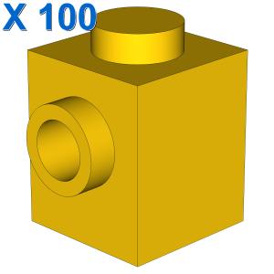 BRICK 1X1 W. 1 KNOB X 100