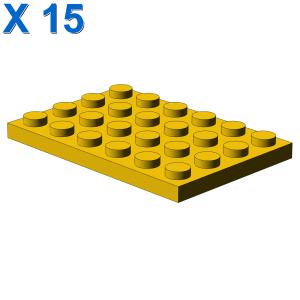 PLATE 4X6 X 15