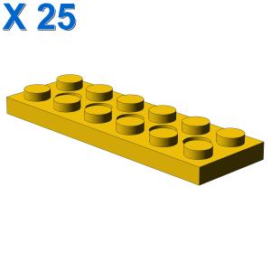 PLATE 2X6 W. HOLES X 25