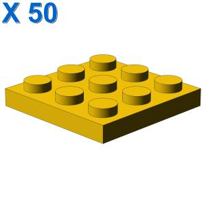 PLATE 3X3 X 50