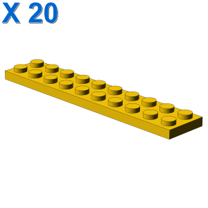 PLATE 2X10 X 20
