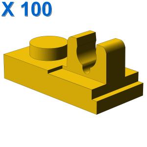 PLATE 1X2 W. VERTICAL GRIP X 100