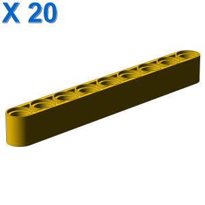 TECHNIC 9M BEAM X 20