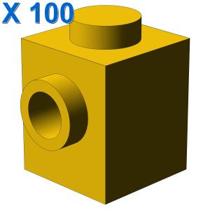 BRICK 1X1 W. 2 KNOBS X 100