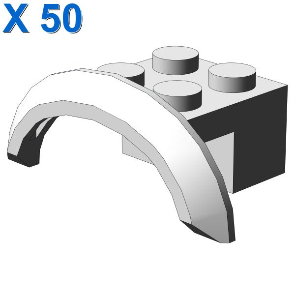 BRICK 2X4X1 W. SCREEN NO. 2 X 50