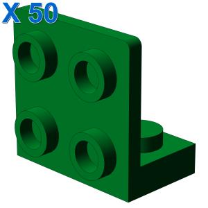 ANGULAR PLATE 1.5 BOT. 1X2 2/2 X 50