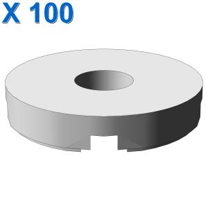 FLAT TILE 2x2 ROUND W. HOLE Ø4.85 X 100