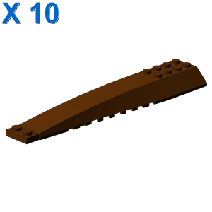 BRICK 4X16 W/BOW/ANGLE X 10