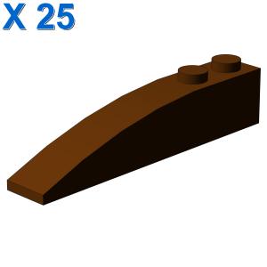 BRICK 1X6 W/BOW X 25