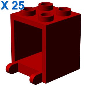 MAILBOX, CASING 2X2X2 X 25
