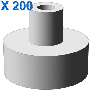 PLATE 1X1 W/3.2 SHAFT/1.5 HOLE X 200