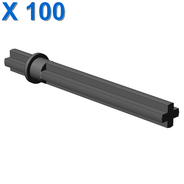 CROSS AXLE 5,5 WITH STOP 1M. X 100