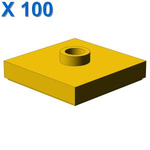 PLATE 2X2 W 1 KNOB X 100