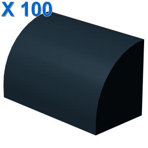 Curved Top, Brick, Modified 1 x 2 x 1 No Studs X 100